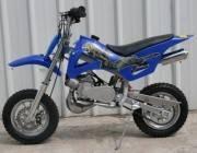 50cc dirt bike blue
