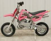50cc dirt bike pink