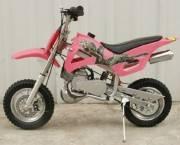 50cc dirt bike pink