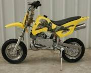 50cc dirt bike yellow
